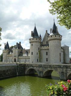 41-Castillo de Sully-sur-Loire, Loiret, Centro, Francia