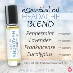 essential oil blend to help with anxiety doterra essential oil recipe for anxiety Essential Oils For Headaches, Doterra Essential Oils, Natural Essential Oils, Young Living Essential Oils, Essential Oil Blends, Migraine Essential Oil Blend, Essential Oils For Vertigo, Essential Oils For Depression, Vetiver Essential Oil