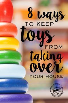 Keep toys from taking over