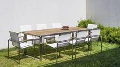 zestaw obiadowy sydney Sydney, Outdoor Furniture Sets, Outdoor Decor, Garden Table, Grenada, Teak, Dining Table, Patio, Design