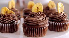 Nutella-Bananen-Cupcakes