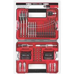 Porter cable 10 amp bench jointer for emma pinterest bench porter cable pcdd88 88 piece drilling and driving accessory set fandeluxe Gallery