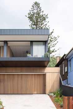 Facade Design, Exterior Design, Architecture Design, House Design, Australian Architecture, Prefab Modular Homes, Balkon Design, Dream House Exterior, Cottage Exterior