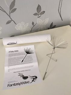 A Fairy Wish, a individual stainless steel dandelion seed Tree Sculpture, Wire Sculptures, Fantasy Wire, Chicken Wire Sculpture, Wire Chandelier, Creative Activities For Kids, Wire Flowers, Mushroom Art, Wire Weaving