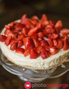 #happiness is....  #strawberry #cheesecake   #photoconcierge #photography #stockphoto #cakes #dessert