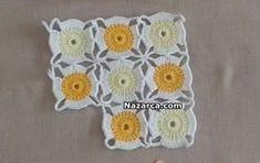 Crochet Motif Patterns, Granny Square Crochet Pattern, Crochet Granny, Baby Blanket Crochet, Crochet Designs, Crochet Baby, Free Crochet, Granny Square Häkelanleitung, Crochet Flowers