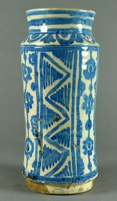 pharmacy jar, 16th century Aragón Inventario: FI.2014.04.05