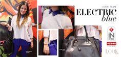 Electric blue, ¿te atreves? Ideas gracias a Look Magazine y Almacenes SIMAN Guatemala