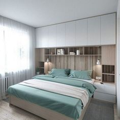 Trendy Bedroom Storage For Small Rooms Apartments Beds 38 Ideas Scandinavian Kids Rooms, Scandinavian Style Home, Scandinavian Design, Trendy Bedroom, Modern Bedroom, Master Bedroom, Gray Bedroom, Bedroom Bed, Contemporary Bedroom