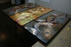 Sculptural painting
