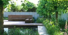 One of my favourite show gardens from Chelsea designed by Tom Stuart-Smith in 2001