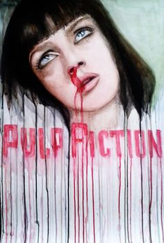 Pulp Fiction by AnyaMorrison.deviantart.com on @deviantART
