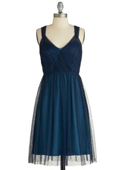 This ethereal dress would look incredible with gold heels and a sparkly clutch. In love! Plus, it's on sale for $29.99!