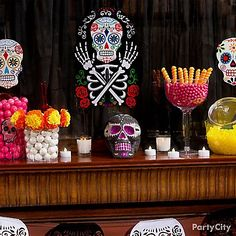 Day of the Dead Party Ideas for Halloween