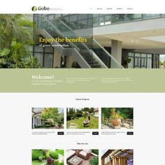 Moto CMS HTML Template for Landscape Design Website