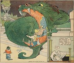 Winsor McCay - Little Nemo I like so much this draw of McCay, he was brilliant
