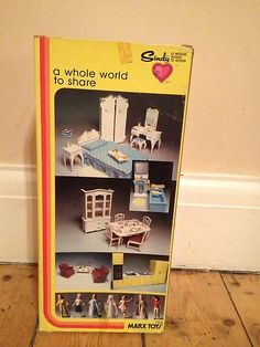 I had this bedroom set and had a whole shelf in my room that was their home, all set out Childhood Friends, Childhood Toys, Childhood Memories, Vintage Barbie, Vintage Dolls, Tammy Doll, Sindy Doll, Baby Memories, Barbie Furniture