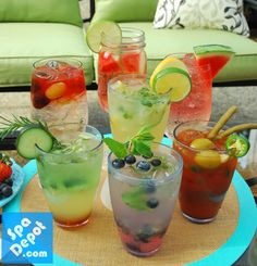 Show off your home improvements & Improve your backyard parties with these Top 6 Summer Cocktails & Recipes!