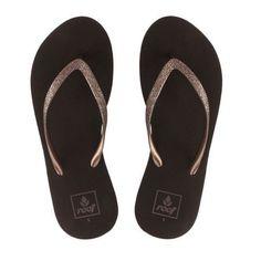 3b09edb1619837 Reef Krystal Star Wedge Sandal - Bronze Surf Companies