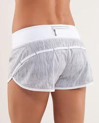 Lululemon Run: Speed Short - Wee Are From Space White Combo / White (Vertical Stripe) - lulu fanatics Athletic Outfits, Athletic Wear, Sport Outfits, Athletic Clothes, Gym Outfits, Fitness Outfits, Workout Attire, Workout Wear, Workout Style