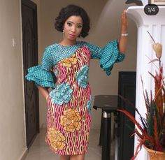 Nigerian Wedding Presents Tese's Fashionable Shoot With Her Bridesmaids African Attire, African Wear, African Women, African Lace Dresses, African Fashion Dresses, African Print Fashion, Africa Fashion, Africa Dress, African Traditional Dresses