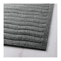"""IKEA - LYNÄS, Rug, flatwoven, 2 ' 2 """"x6 ' 6 """", , Ideal for high traffic areas like hallways since the rug is easy to vacuum and maintain.You can cut the rug to the desired size without it fraying.The anti-slip backing keeps the rug firmly in place on the floor and reduces the risk of slipping."""