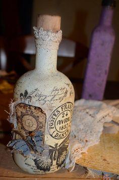 Nτεκουπαζ σε ένα μπουκάλι μαστίχα που ήπιαμε .. γιατί να πάει χαμένο..