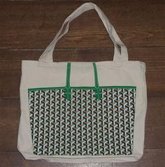 #My Other Bag   Goyard reusable grocery tote!