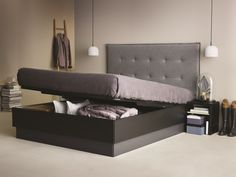 The Lugano bed with lots of storage space.