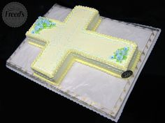 Cake Cross for any religious occasion! #cakeideas #religiouscake