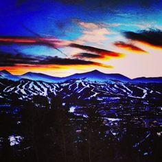 Photo by: Last nights was epic. Thinking about hiking brecks parks today? State Of Colorado, Colorado Homes, Colorado River, Colorado Mountains, Rocky Mountains, Breckenridge Lodging, Breckenridge Vacation Rentals, Breckenridge Colorado, The Places Youll Go