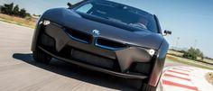 BMWi8 mit Brennstoffzelle in schwarz