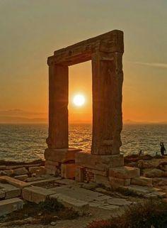 Tramonto, Naxos