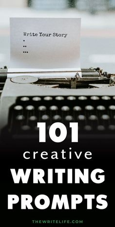 Story starters and creative writing prompts for writers can help you quickly fill your journal with fantasy plot twists, dark poetry, romantic dialogue, funny ideas, dystopian inspiration, and interesting supernatural twists to make your fiction writing magical. Learn how writing prompts can help you grow as a writer. Grab 101 Creative Writing Prompts and get the best writing tips at thewritelife.com #storystarters #writing Romantic Writing Prompts, Writing Prompts For Writers, Creative Writing Prompts, Book Writing Tips, Writing Words, Fiction Writing, Writing Help, Essay Writing, Story Prompts