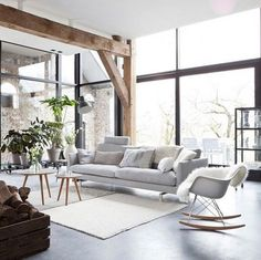 Scandinavian Cottage #scandinavian #cottage #livingroom #interior #interiors #interiordesign #design #architecture by homeadore