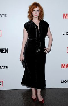 Christina Hendricks ...... She was born May 3, 1975