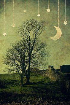 Hora de irse, que ya han puesto la luna y las estrellas ;)