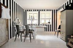 Inspiración: paredes a rayas [] Inspiration: striped walls