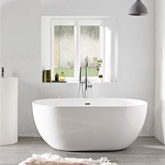 A freestanding bath in a small but perfect 1500mm size. For the small luxury bathroom