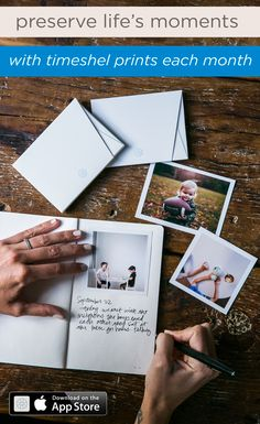 The perfect way to hold on to memories. Use the timeshel iOS app to receive beautiful prints each month- straight from your phone to your door. Just In Case, Just For You, Thing 1, My New Room, Things To Know, Good To Know, Making Ideas, Helpful Hints, Diy Projects
