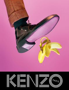 Kenzo choose Japanese actress Rinko Kikuchi and male model Sean O'Pry for their fall 2013 ad campaign. oriented on accessories. Kenzo e.