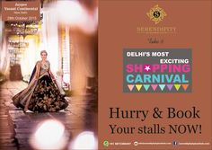 Last few stall left booking closing soon... Book Now! #betheredelhi