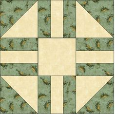 Free Wedding Quilt Block - Quilting Might be a pattern I could do in purple and gold with the center a dog...
