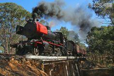 J549 - Victorian Goldfields Railway by Australian Trains, via Flickr