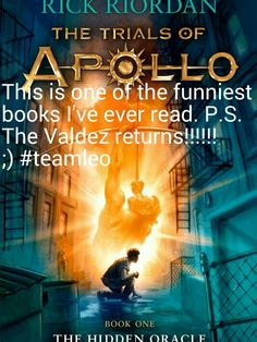 I literally got it on the day it came out and finished it. Ps..... The return of Leo Valdez and Calypso!!!!!!!! #teamleo <3