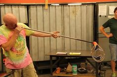Glass blowing.. would love to learn how to do.