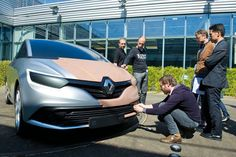 OG | 2016 Renault Scenic Mk4 - Project JFA | Full-size clay / di-noc model