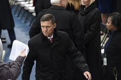 """As President Trump delivered his inaugural address on the steps of the U.S. Capitol, his new national security adviser, Michael T. Flynn, sent a text to a former business associate telling him that a plan to build nuclear power plants in the Middle East in partnership with Russian interests was """"good to go,"""" according to a witness who spoke with congressional investigators."""