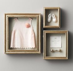 Trendy Ideas For Baby Decor Girl Shadow Box Baby Room Boy, Baby Bedroom, Baby Room Decor, Girl Nursery, Girl Room, Child Room, Nursery Bedding, Kids Bedroom, Restoration Hardware Baby