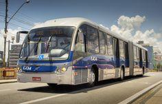 https://flic.kr/p/AsTMAF | Neobus Mega BRT | Itamaracá Transportes Recife / PE / Brasil  Neobus Mega BRT Volvo B340M